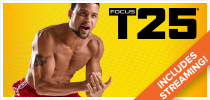 FOCUS T25® and Shakeology® CP